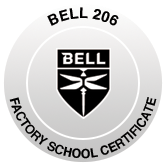 Bell 206 Factory School Certificate image